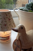 gorgeous candle to cheer a rainy afternoon