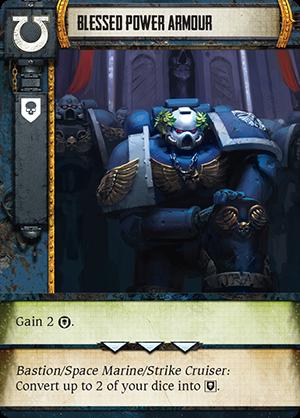 Warhammer 40,000 Forbidden Stars ultramarine card