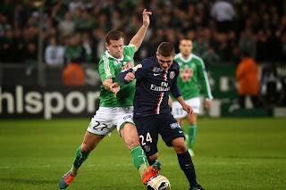 Psg 1-0 St Etienne # Résumé
