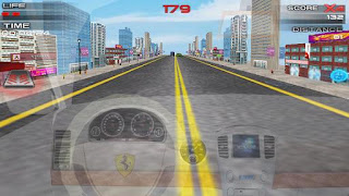 Screenshots of the Simulator: Speed Car Racing for Android tablet, phone.