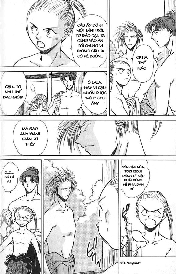 Soshite Haru No Tsuki chap 3 - Trang 11