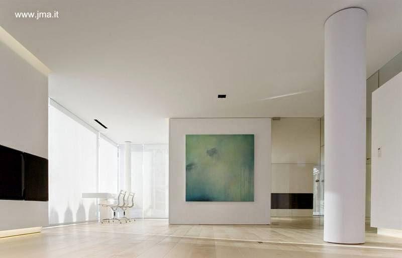Sala en el interior de la residencia