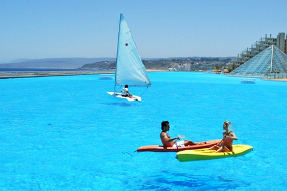 Largest Swimming Pool Of The World World Information