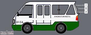 Trayek dan Info Angkot 012A di Tasikmalaya | Kisatasik