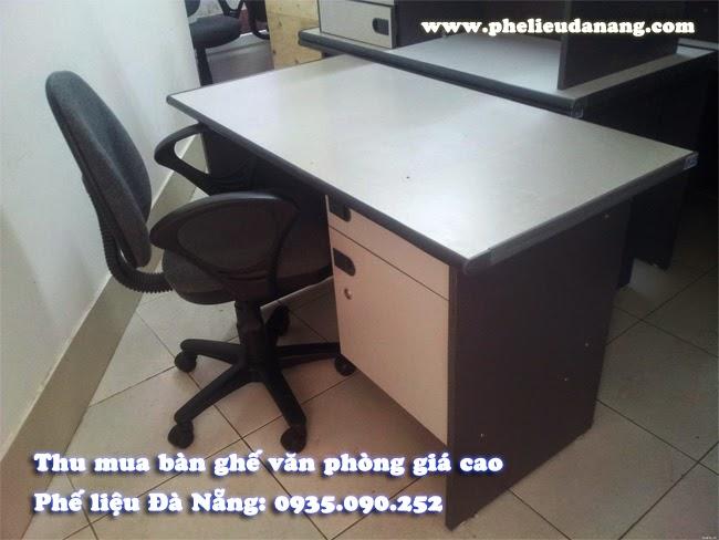 Nhận thanh lý Bàn ghế văn phòng cũ giá cao