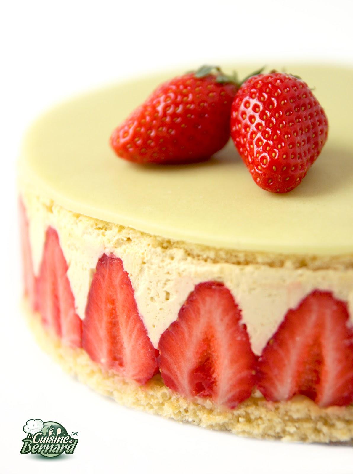 Cake A La Fraise Sans Beurre