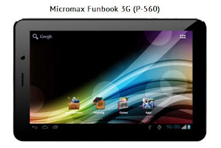 Micromax Funbook 3G P560 price in India image