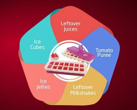Tupperware ice tray