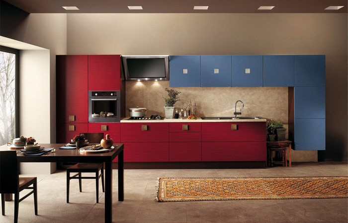 Arm rios coloridos na cozinha decor alternativa for Italian kitchen design india