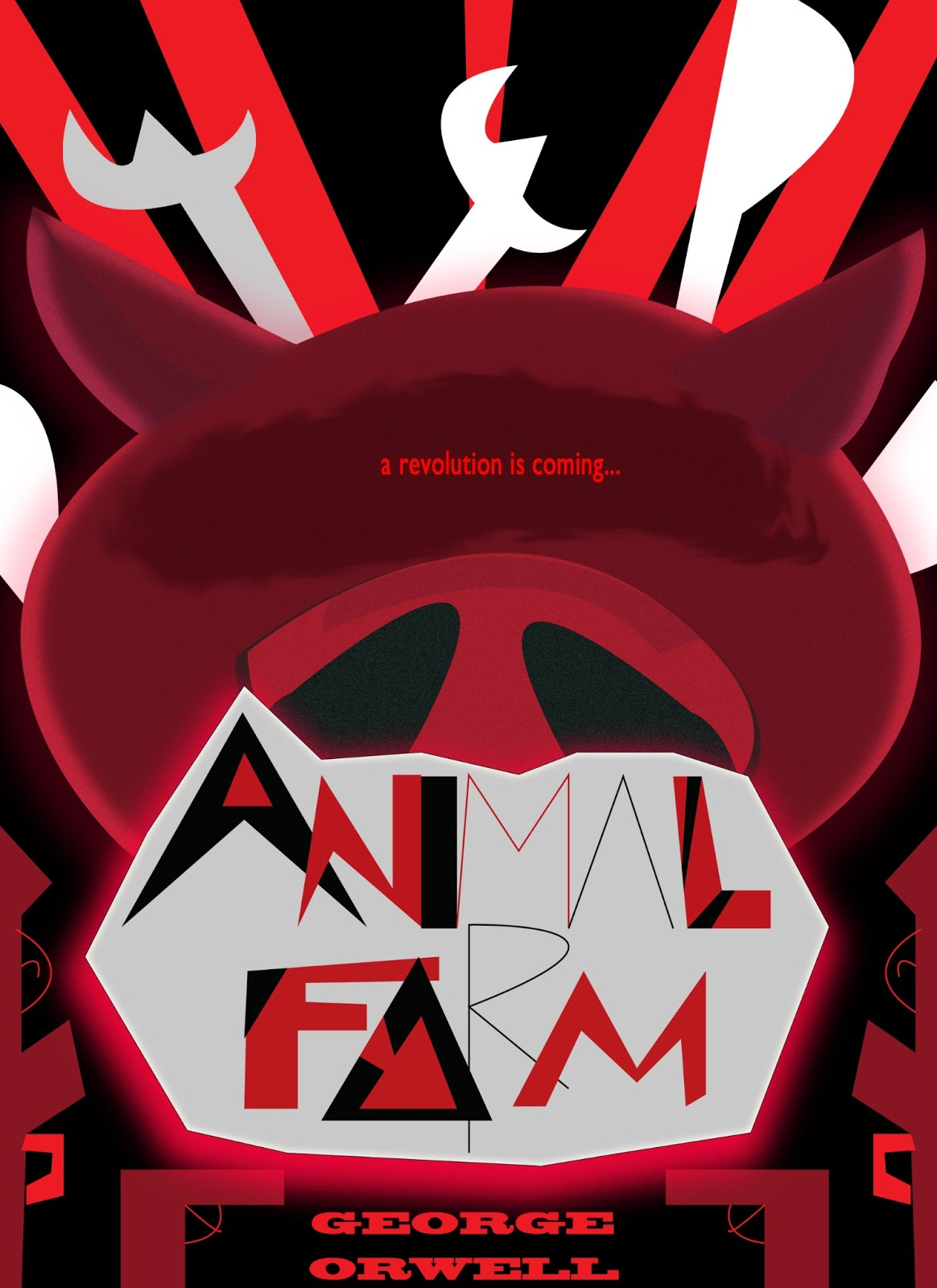 Book Cover Design Near Me : Roundedme animal farm book cover