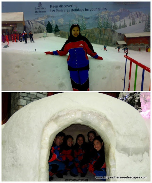 my first visit at Ski Dubai's Snow Park