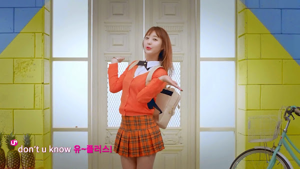 EXID Hyerin Up&Down LG