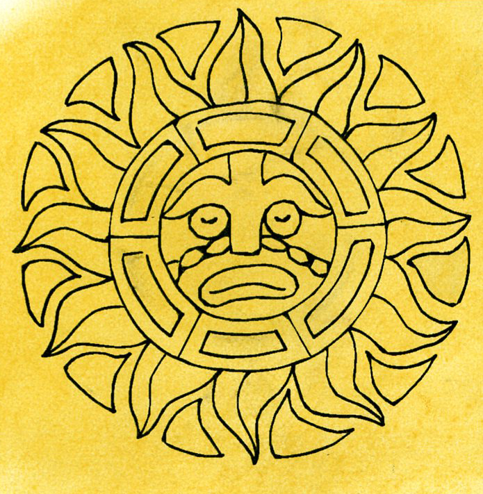 Mexican Sun Symbol Images Meaning Of Text Symbols