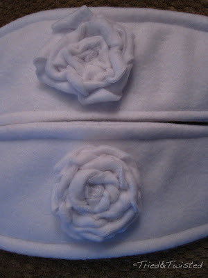 How to Make Sew Only Rosettes: Large vs Small Petals