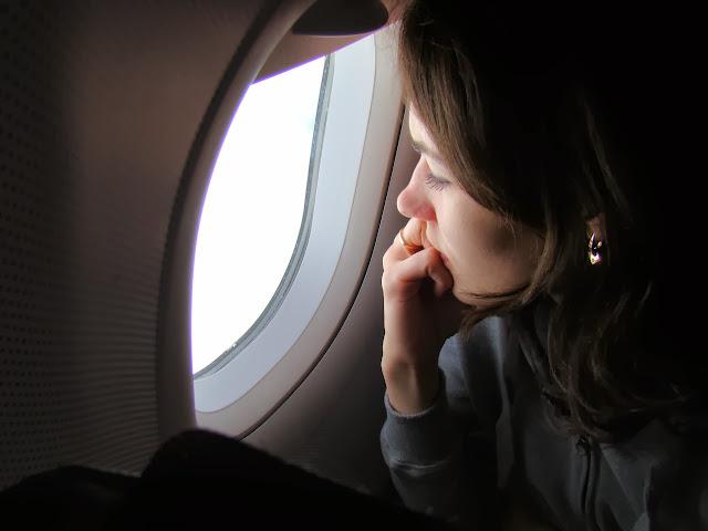 Подлетаем к Монреалю