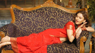 manjari hot boobs in red dress