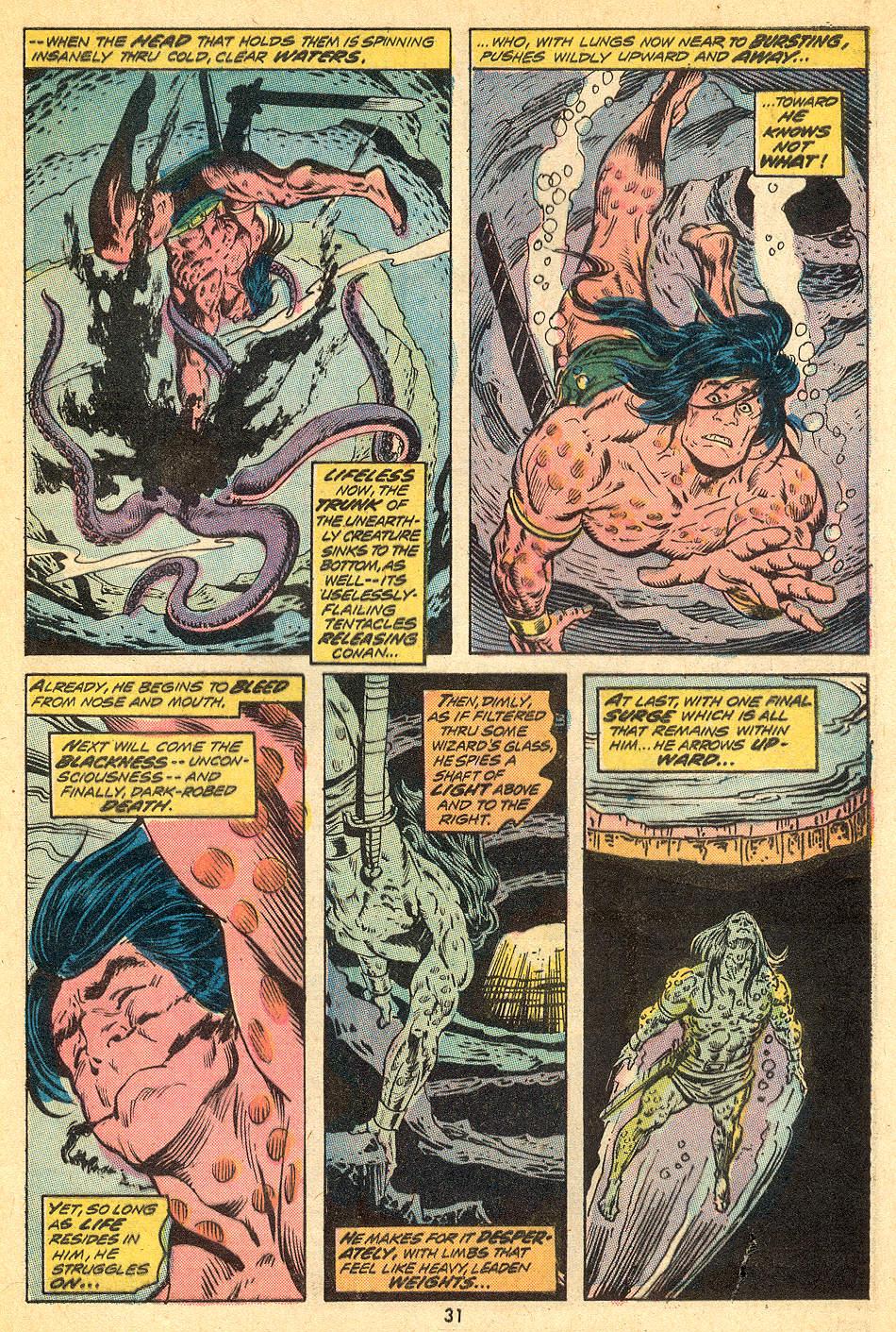 Conan the Barbarian (1970) Issue #32 #44 - English 19