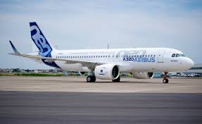 First A320neo takes off for its first flight