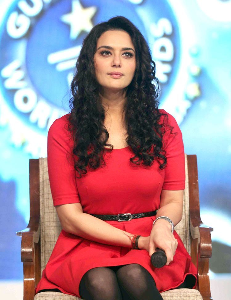Sexy Preity Zinta New Photos Guinness World Records Show Launch