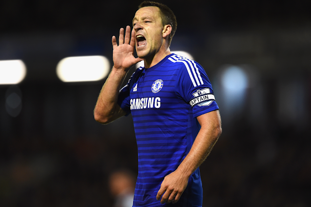 John Terry absence highlights Chelsea's need for leaders