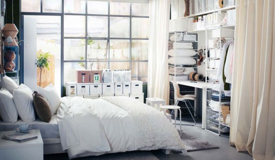 Inspiring Bedrooms Ideas : Best IKEA Bedroom Designs for 2012