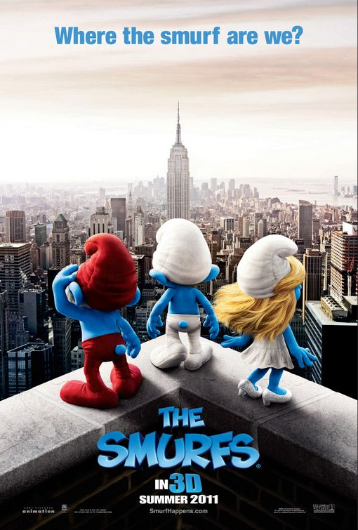 smurfs by CGIWorld