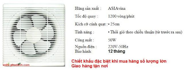 quat hut asia H08001