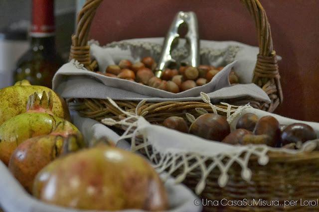 una casa su misura: la tavola autunnale