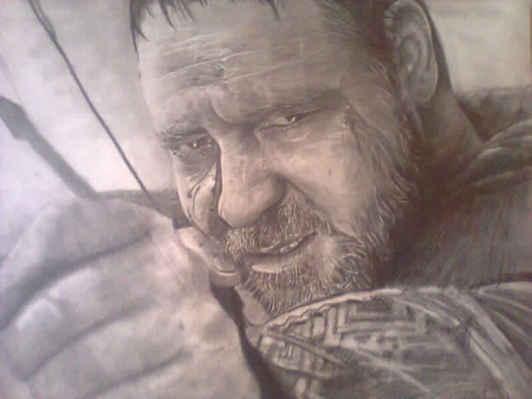 Rei Leonidas do filme 300 (desenho)