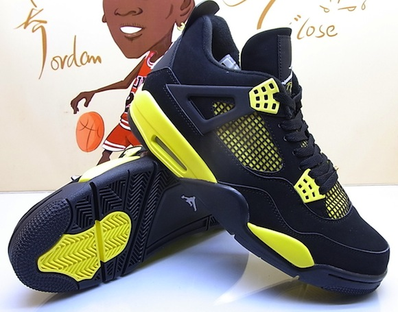 jordan 4 amarillo