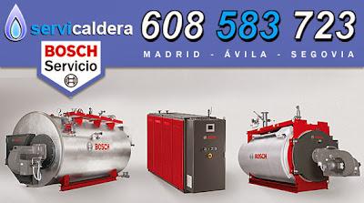 Reparación de Calderas Bosch en Madrid, Ávila y Segovia