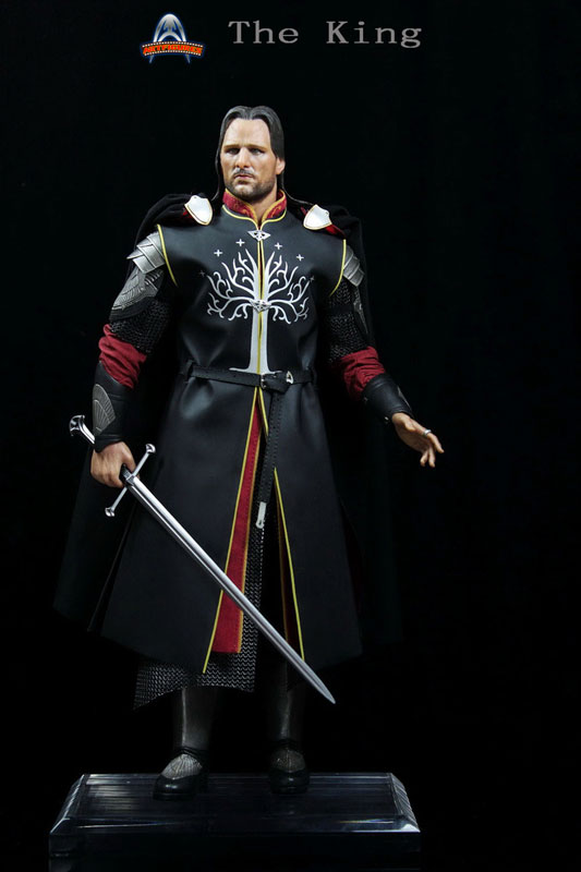 [ART-FIGURES] The King OR LOTR 1/6 Aragorn King of Gondor 12-inch Figure King-012