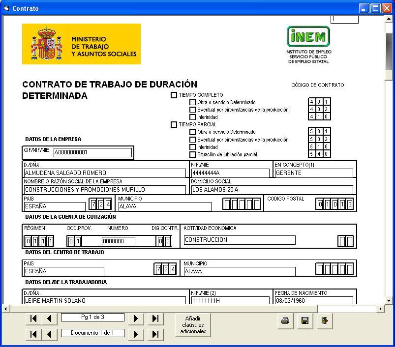 Formaci n laboral contratos de trabajo for Contrato laboral para empleadas domesticas
