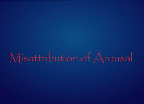 Misattribution of Arousal