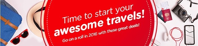 Air Asia Cheers to the New Year Promo Fare 2016 to 2017 for 799 Pesos!