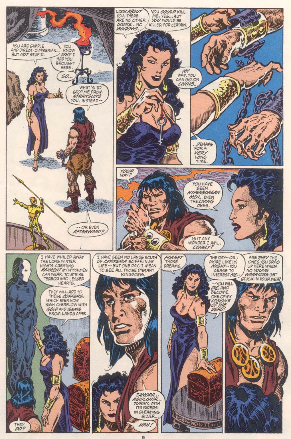 Conan the Barbarian (1970) Issue #254 #266 - English 8
