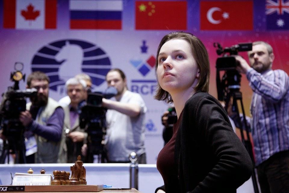 Mariya Muzychuk tout près du titre - Photo © Nastia Karlovich