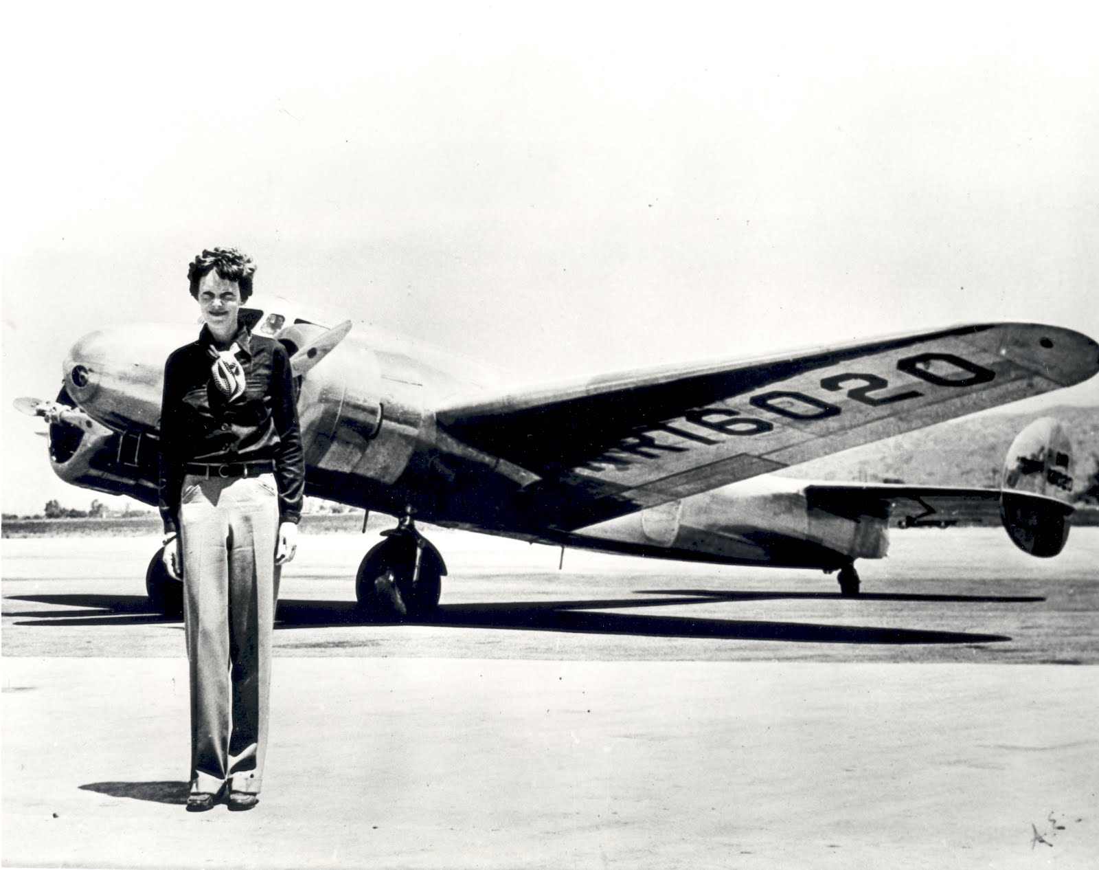 Amelia Earhart and Lockheed Electra