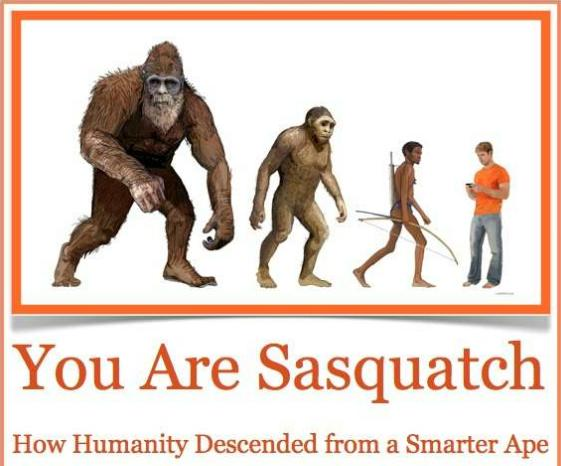bigfoot evidence get fbfbs quotyou are sasquatchquot for free