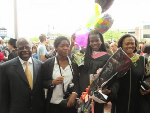 tinubu daughter graduates