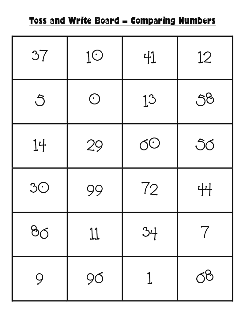 Worksheet 2 Digit Numbers two digit numbers gallery image numbers