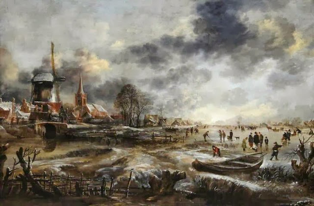 'Frozen River Scene.' Photo: Hepworth Wakefield Gallery.