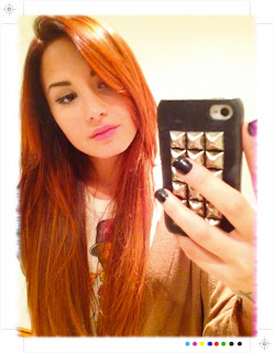 Demi Lovato Twitpic on Demi Lovato Red Hair Twitpic Jpg