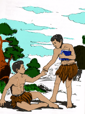 Waso, Cerita Rakyat dari Irian Jaya (Papua)