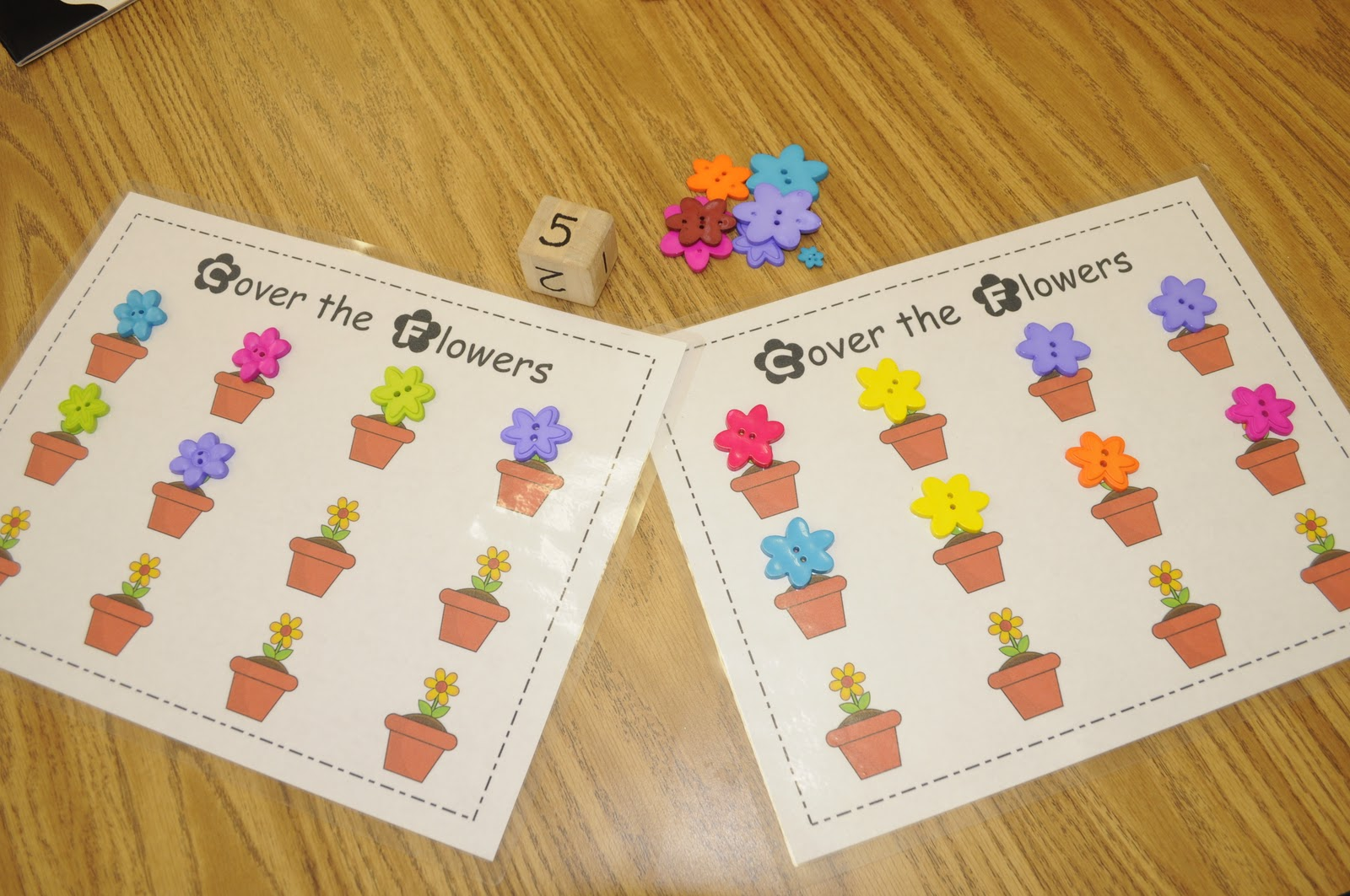 Mrs. Ricca\'s Kindergarten: Math Work Stations