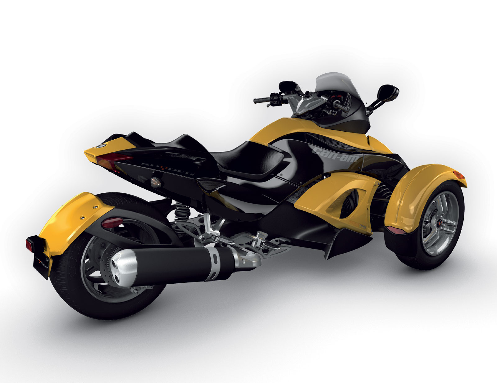 Motorcycle Pictures: Can-Am Spyder Roadster SE5 2008 (Sequential ...