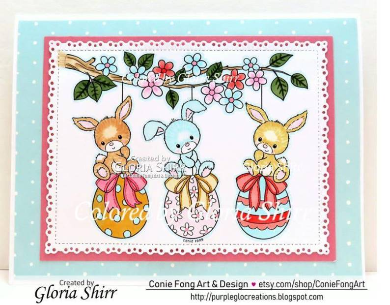 Featured Card for Crafty Animals Challenge Blog