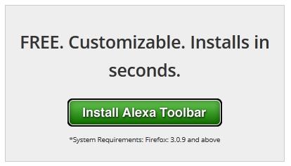 klik tombol pemasangan alexa toolbar