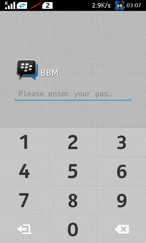 BBM App Lock - Kecopet Blog