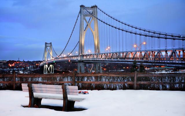 Mid Hudson Bridge Lights